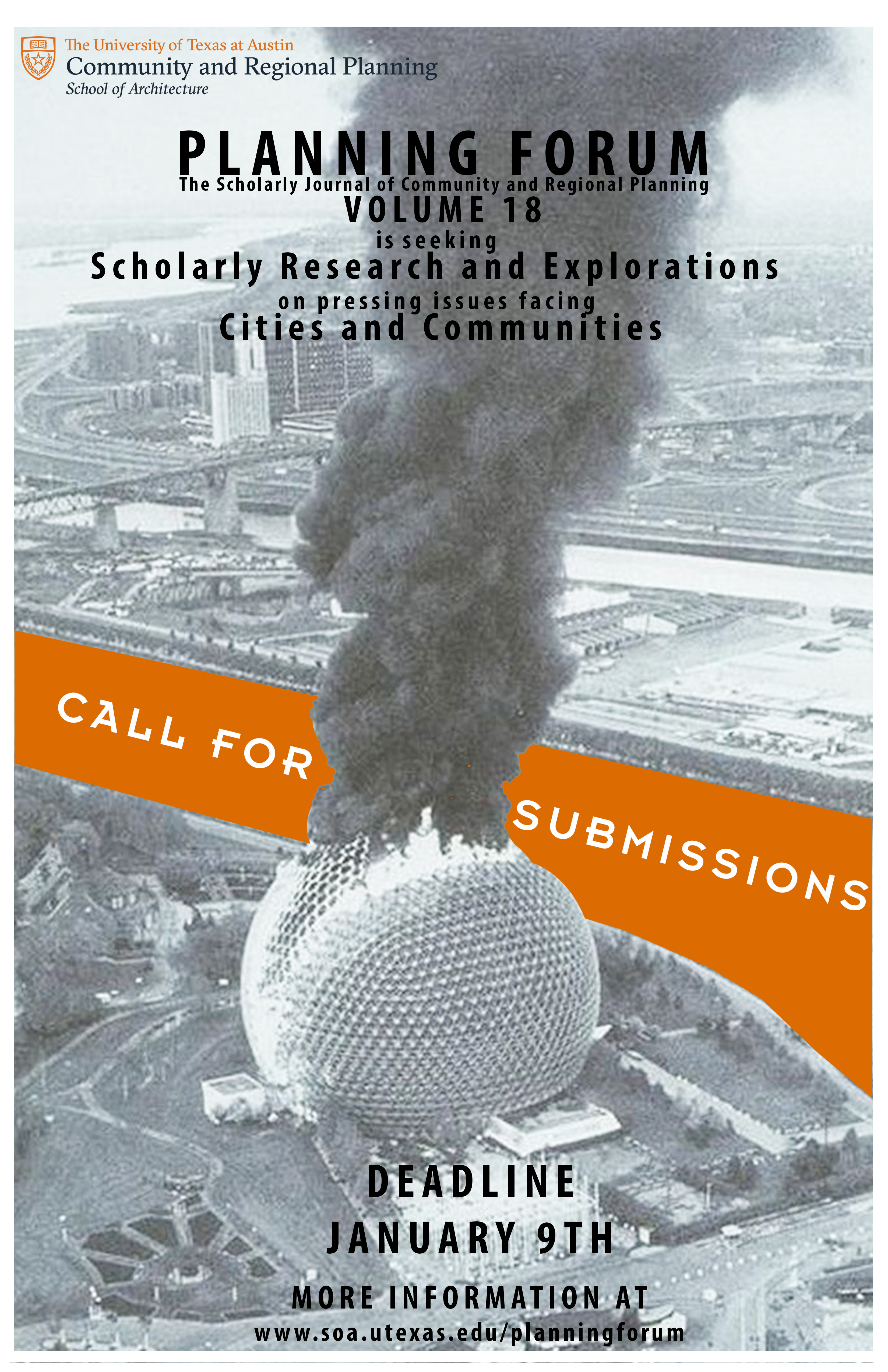 Call for Submissions Poster  @UTSOA