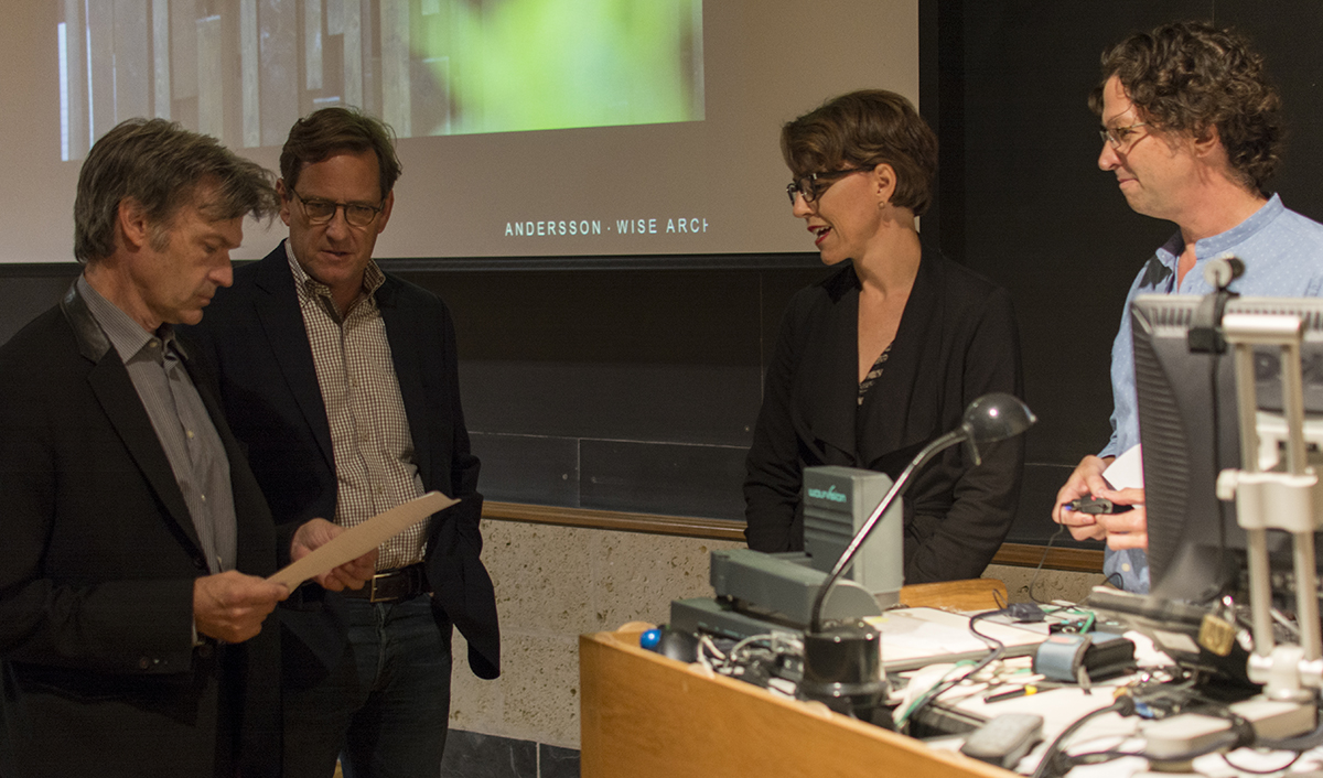 Arthur Andersson, Chris Wise, Wendy Dunnam Tita, Mell Lawrence Fall 2015 lecture