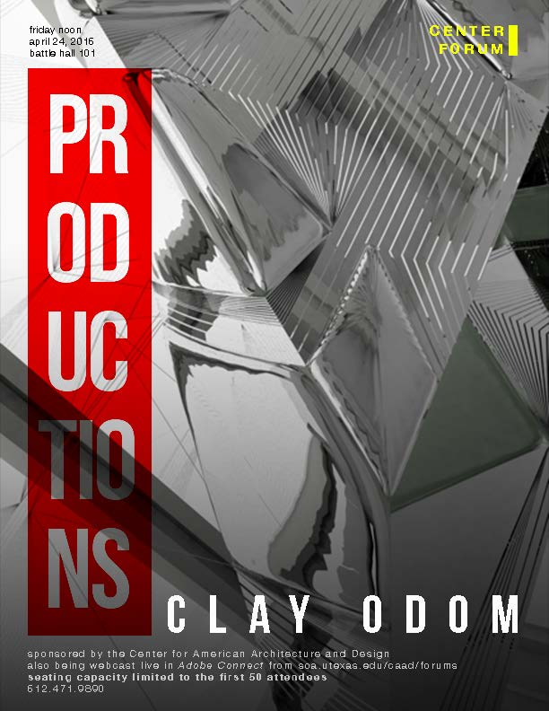 CAAD hosts Clay Odom for Friday Lunch Forum