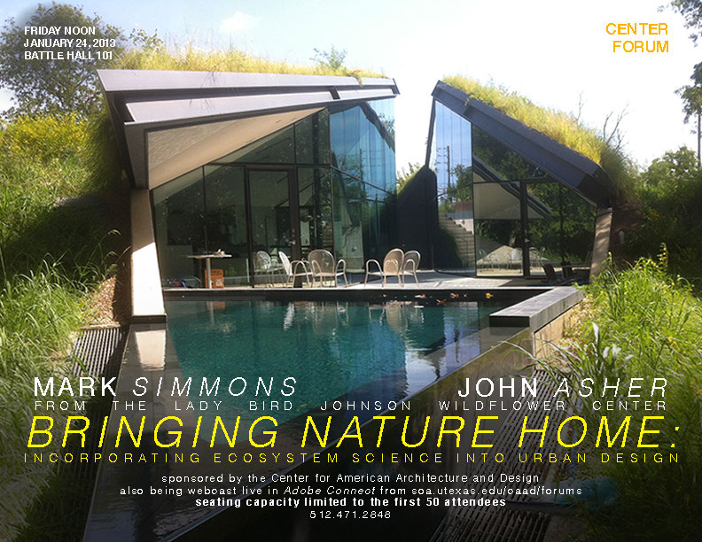 Mark Simmons and John Asher - Bringing Nature Home