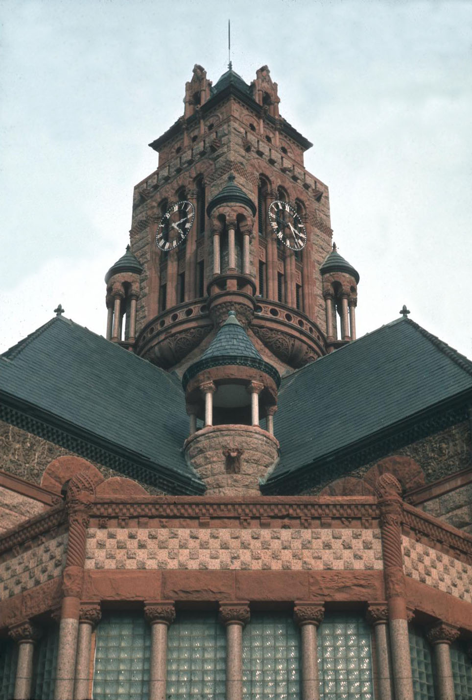 Ellis County Courthouse, Waxahachie, 1895-97, D. Blake Alexander