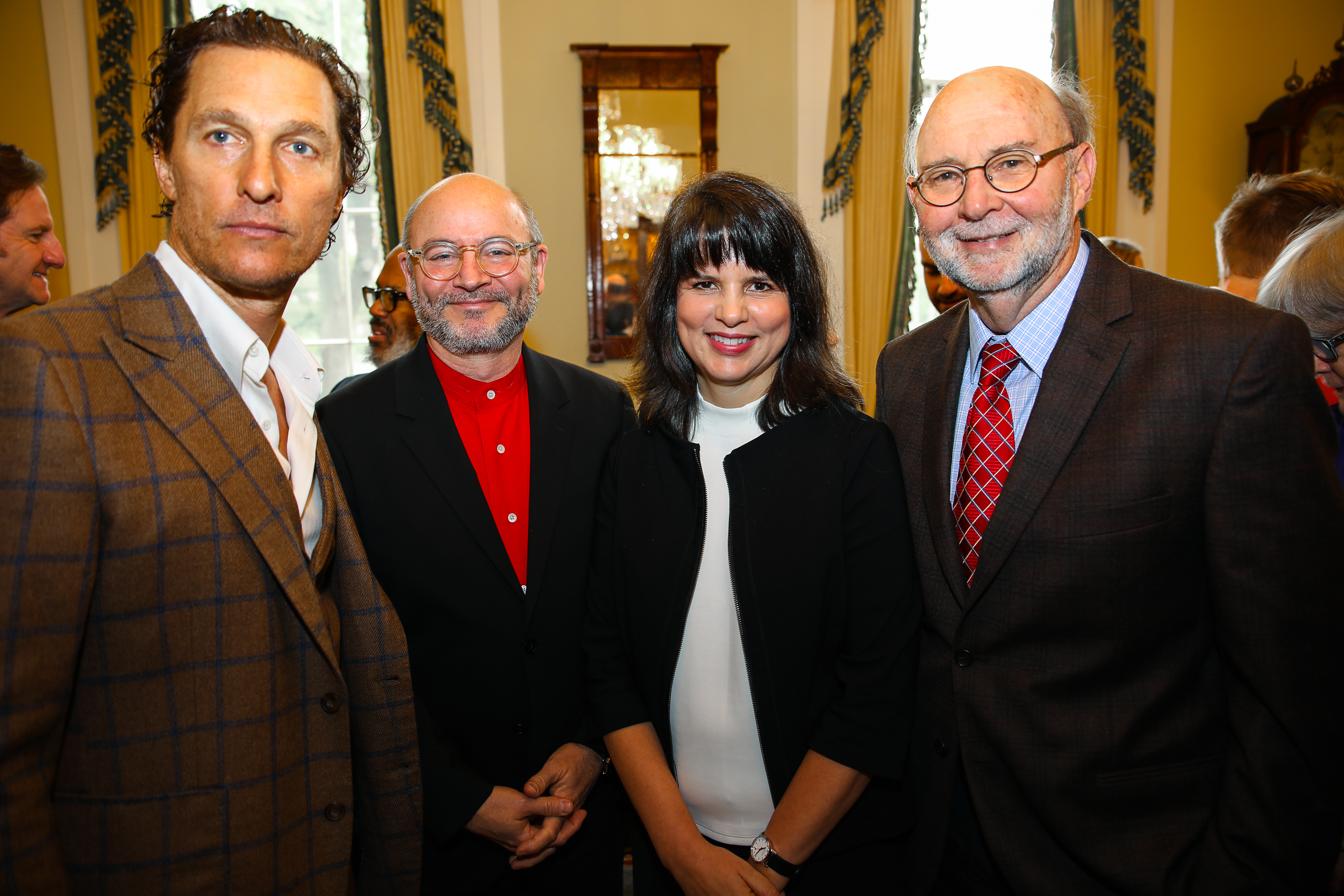 Alumni Honored at Governor's Mansion