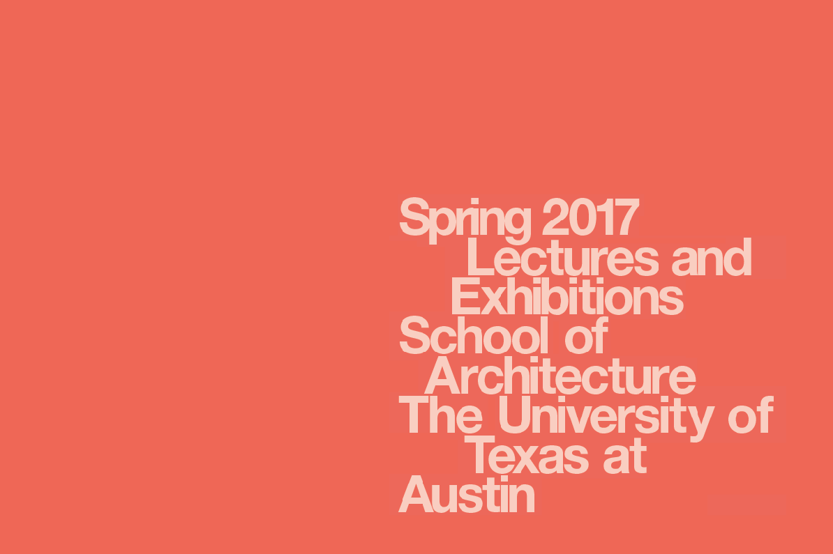 Spring 2017 Lectures and Exhibitions