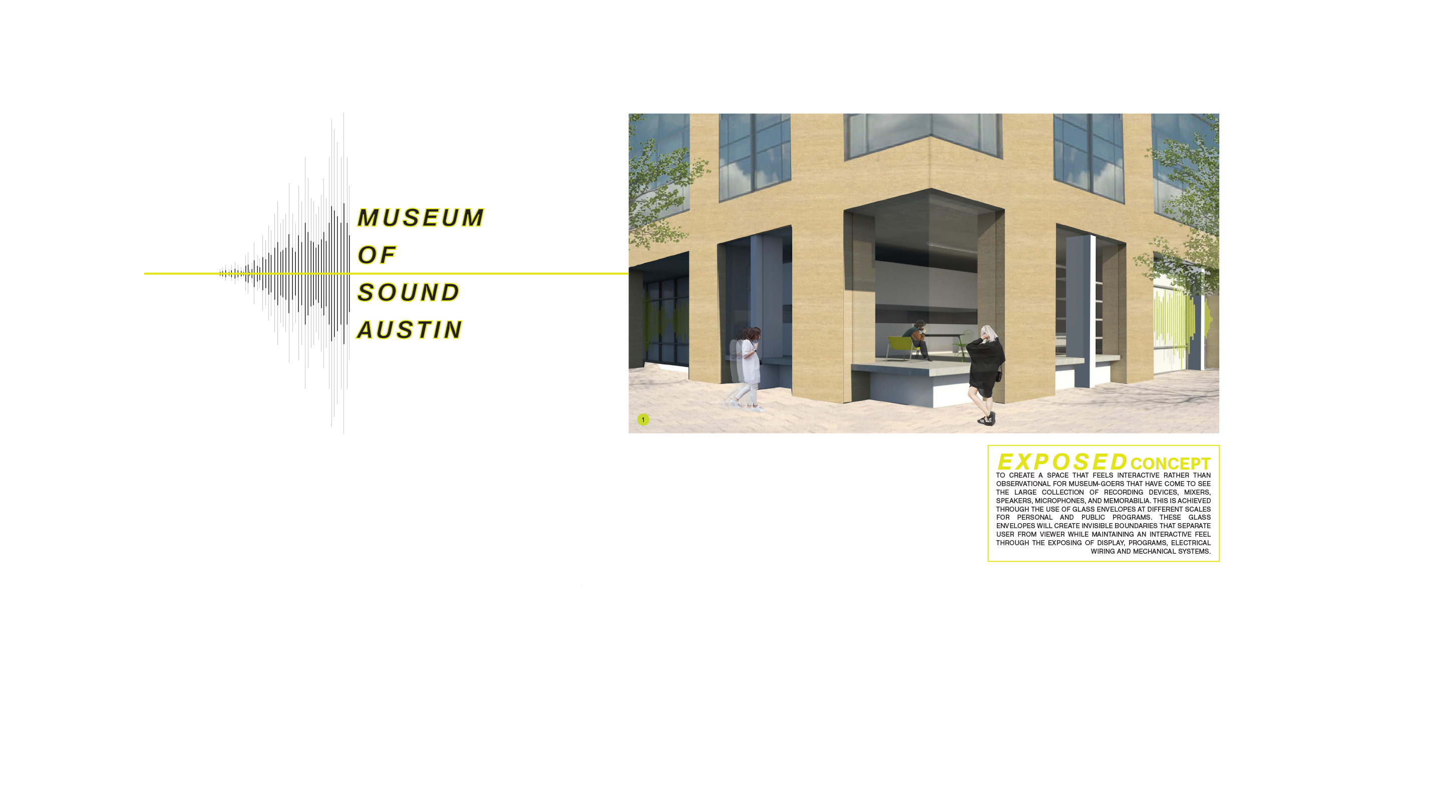 Image of Museum of Sound Austin, interior design project by Raquel Torres.