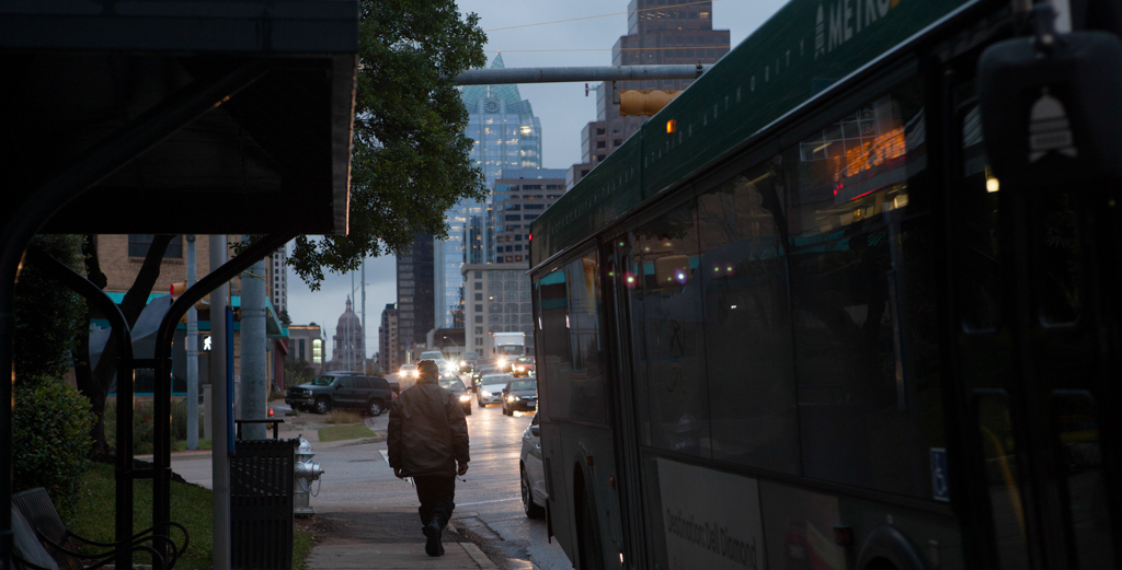 """Is the """"Uberization' of public transportation the future for Texas cities?"""