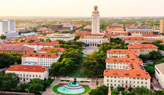 University of Texas aerial photo