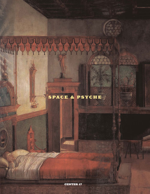 CENTER 17: Space & Psyche cover