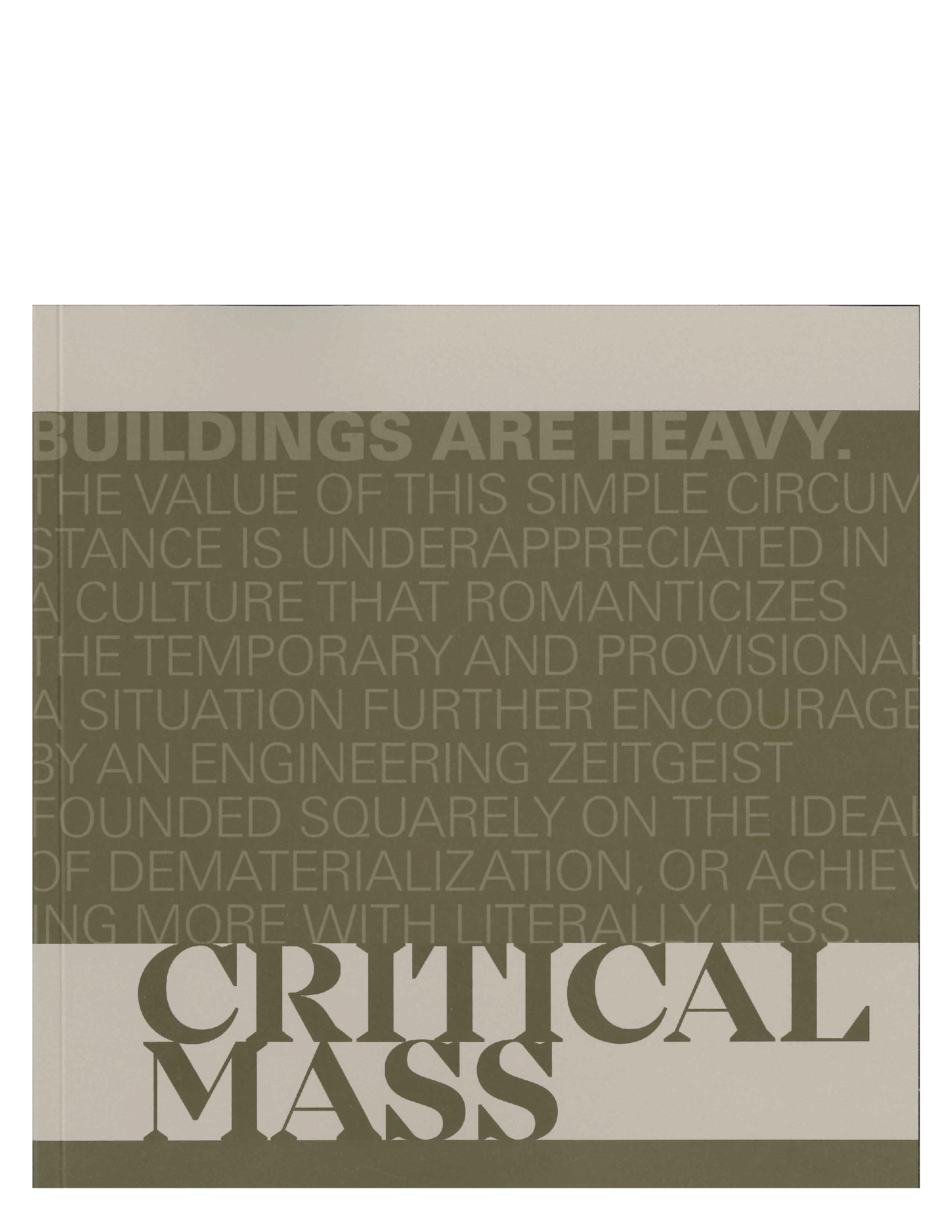 Centerline 11: Critical Mass cover