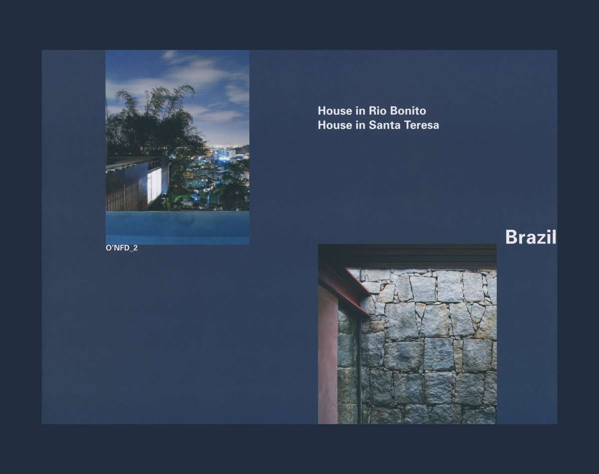 The O'Neil Ford Duograph Series, Volume 2: Brazil - House in Rio Bonito, House in Santa Teresa cover
