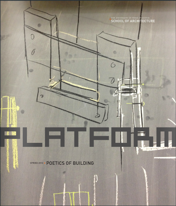 Platform: Poetics of Building cover