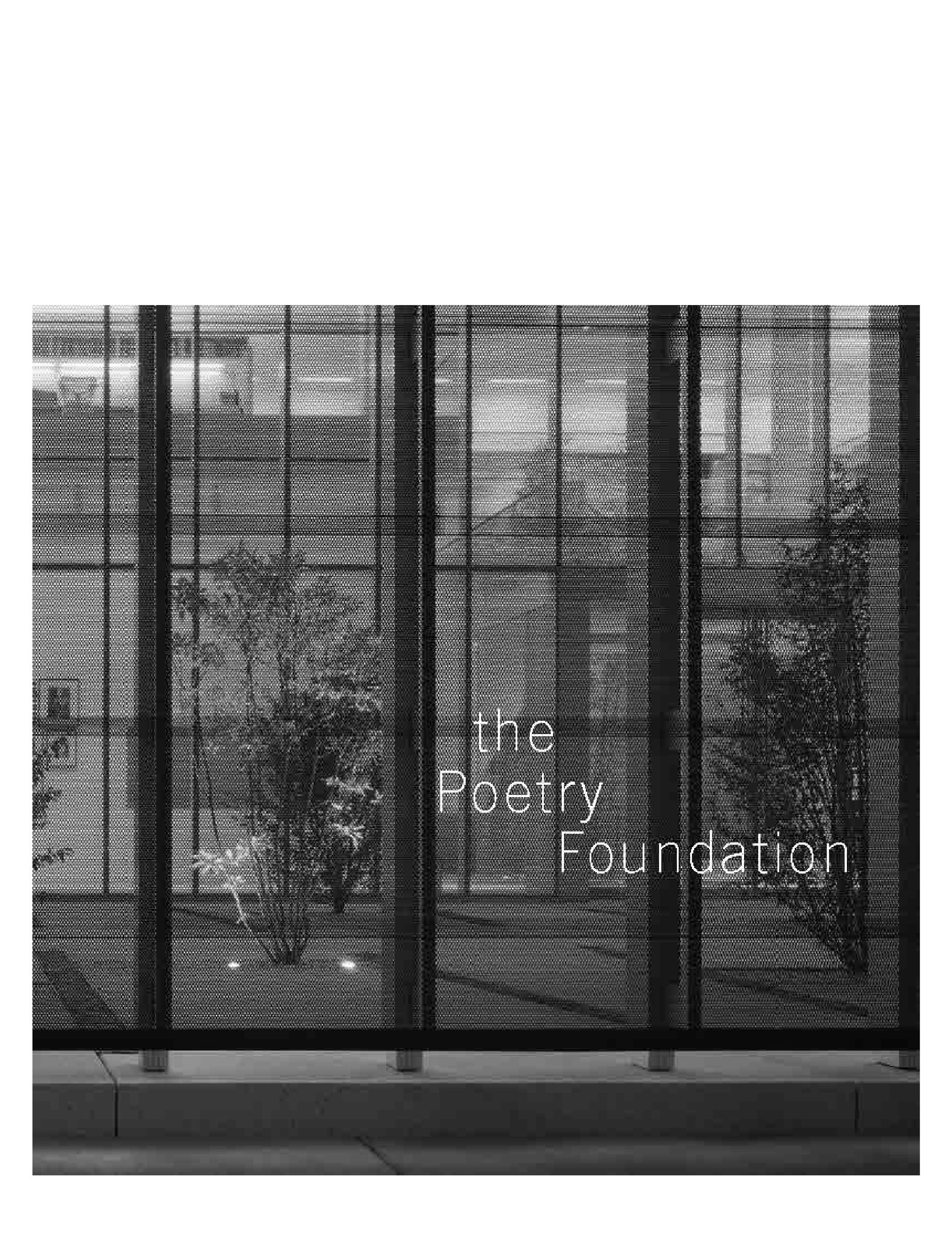 Centerline 9: The Poetry Foundation cover