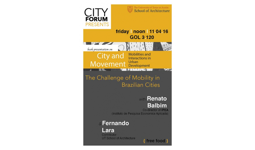 The Challenge of Mobility in Brazilian Cities.