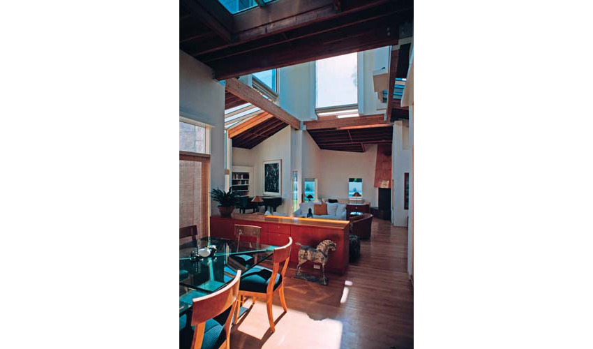 Schnabel House, Frank O. Gehry and Associates, Los Angeles, California, 1986-1989.