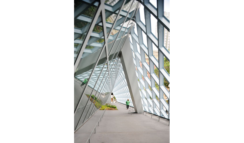 Seattle Central Library, Rem Koolhaas and Joshua Ramus, Seattle, Washington, 2001-2004