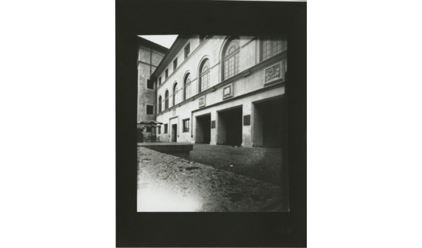Untitled, 2010 pinhole photograph - Kyle Knaggs