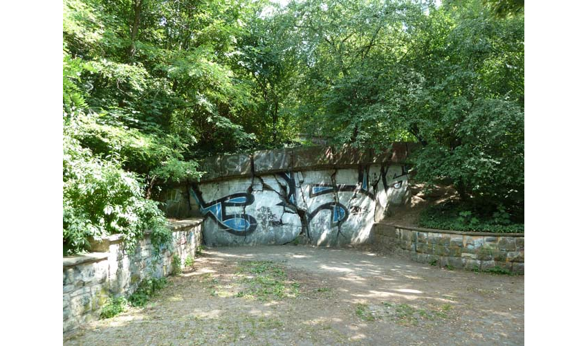 "Mauerpark (Wall Park), Pankow was a former division between East and West known as the ""Death Strip."""