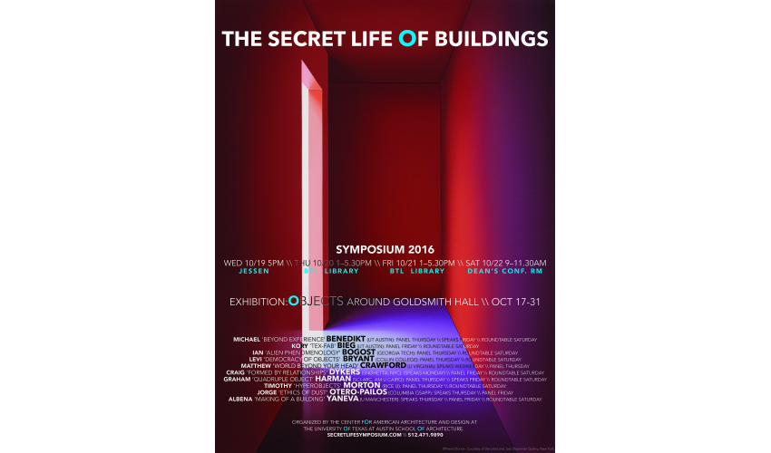 The Secret Life of Buildings Symposium