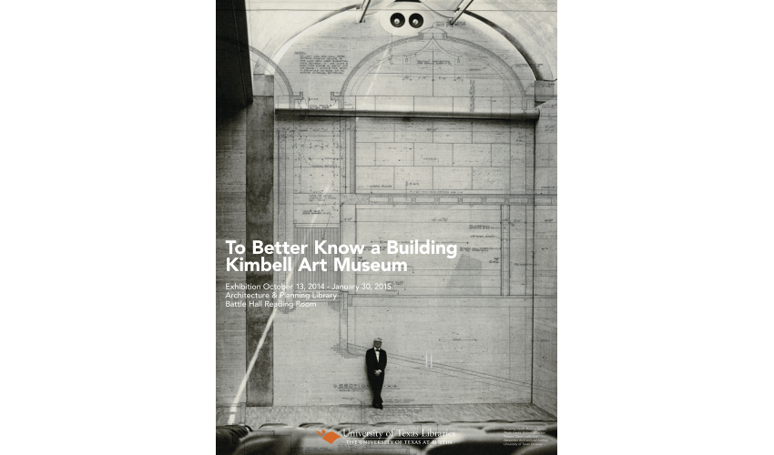 to better know a building kimbell art museum texas