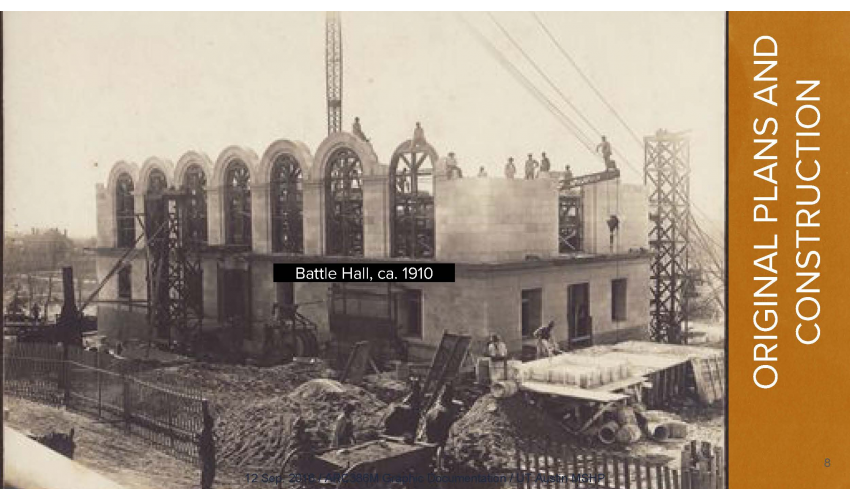 Historic Image of the Construction