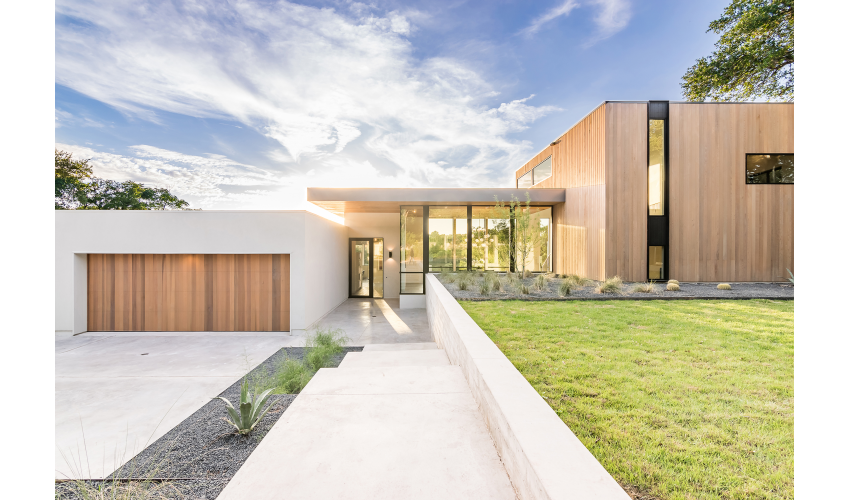 MF Architectureu0026#039;s Bracketed Space House