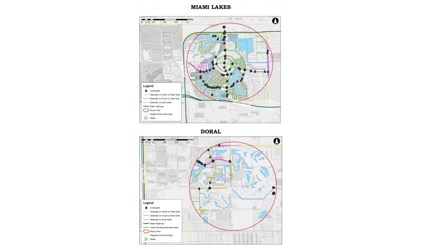 EVALUATING WALKABILITY THROUGH GIS SPATIAL ANALYSIS IN SOUTH