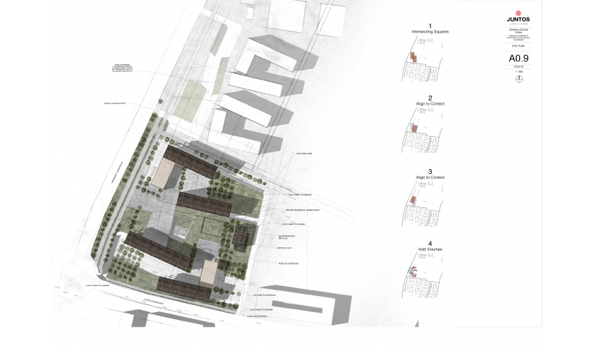 Kulturzentrum Site Plan