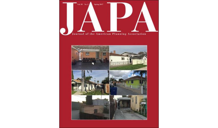 Journal of the American Planning Association - Spring 2017