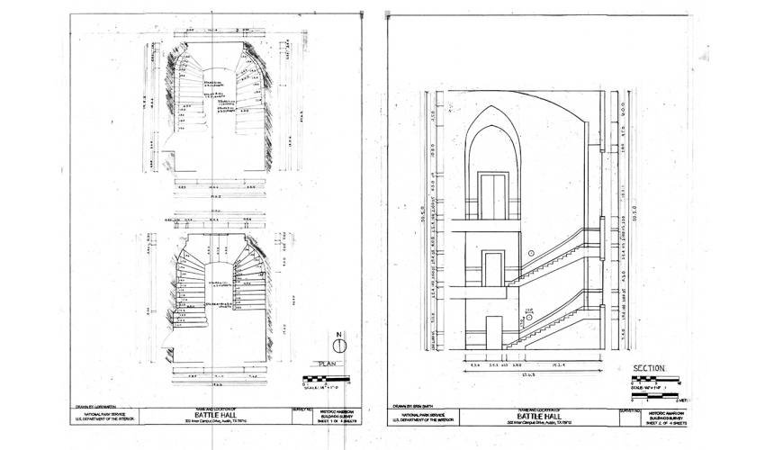 Plans and Transverse Section