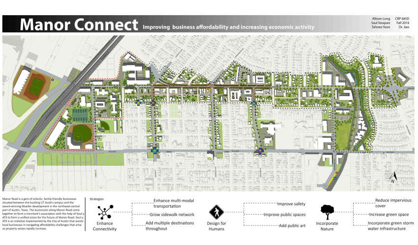 Manor commercial corridor physical planning and design for Commercial space planning software