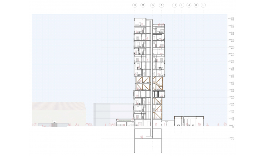 Diagrams, Integrative Studio, Revit, Illustrator, Photoshop, Housing