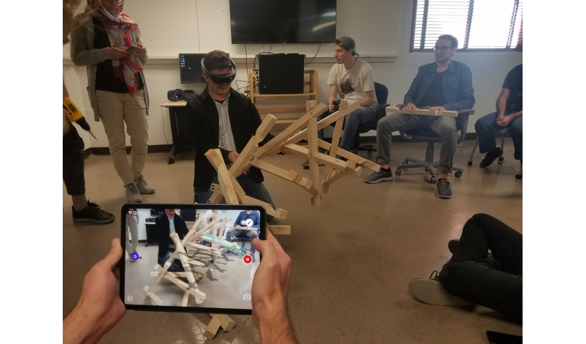 AR / VR tools in use by ACADIA workshop participants