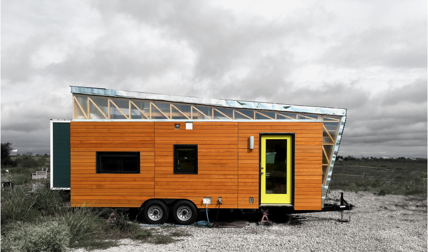 "Davis Richardson's ""Kinetohaus"" Tiny House"