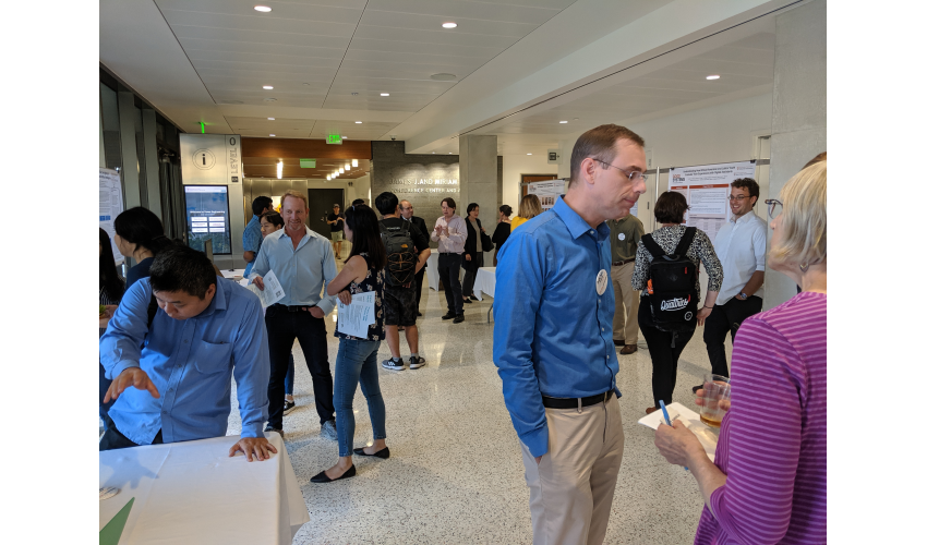 Poster Presentation at Launch Event