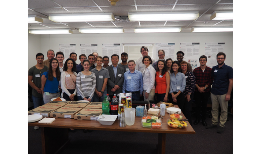Faculty and Students of CM2 Consortium Pose Together to Celebrate Anniversary