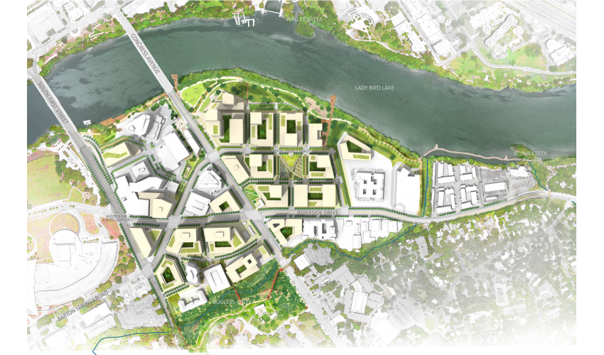 South Central Waterfront - Illustrative Master Plan