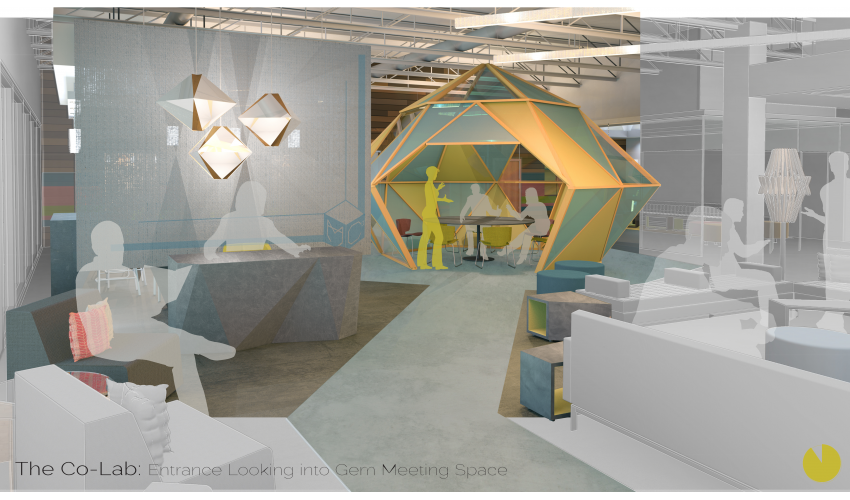 Interior Design Student Heather Sutherland Awarded In Workplace Of The  Future Competition