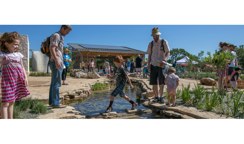 Photo of Luci and Ian Family Garden at the Lady Bird Johnson Wildflower Center.