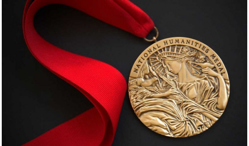 National Humanities Medal. Photo courtesy of the National Endowment for the Humanities (NEH)