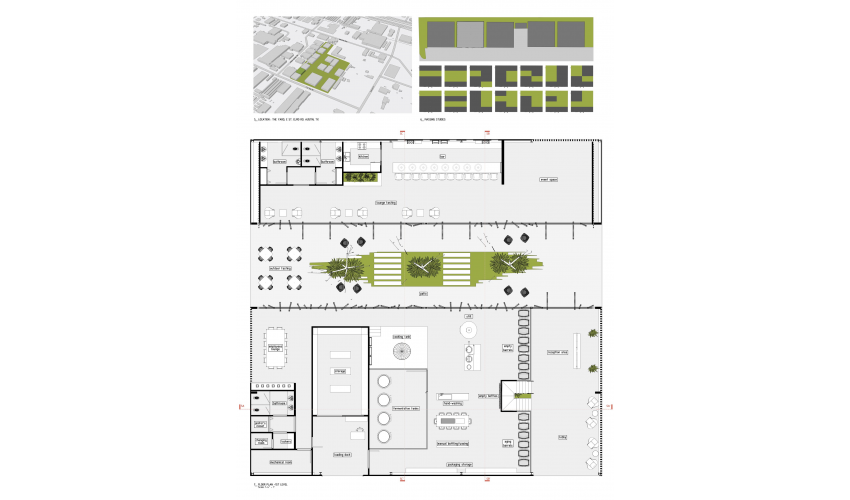 Location and Floor plan