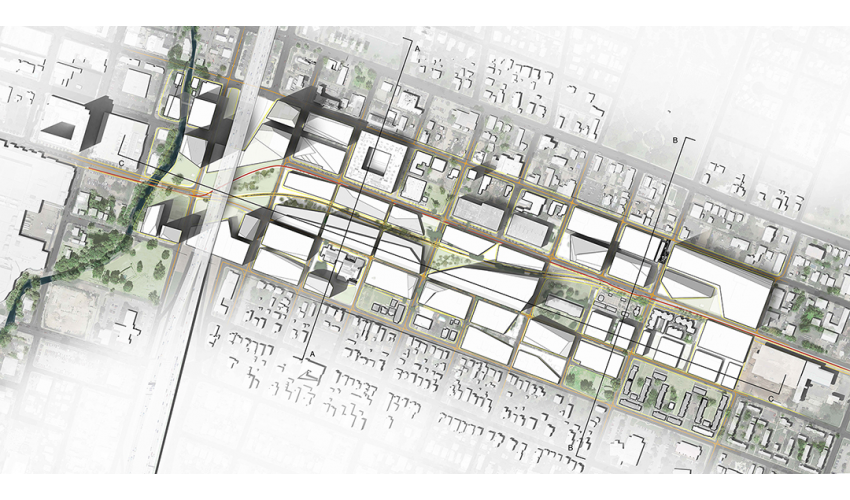 saltillo district development plan texas architecture