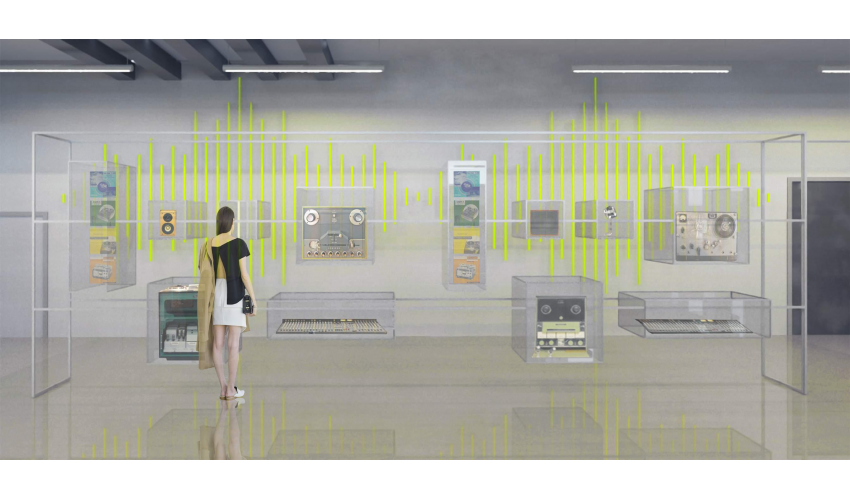 Good Image Of Museum Of Sound Austin, Interior Design Project By Raquel Torres.