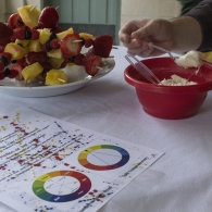 Advanced Color Living Color Chromatic Strategy Dinner Party