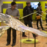Field Constructs Mebane exhibition opening