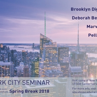 NYC Seminar - Spring Break 2018