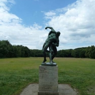 Volkspark Rehberge, Mitte is a forested 70 hectare park that sits atop a glacially deposited sand dune.