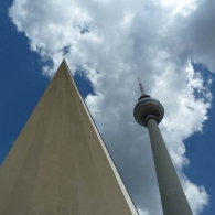 Fernsehturm (TV Tower), Mitte, Berlin completed in 1969 by the GDR, the tower has become a Berlin.
