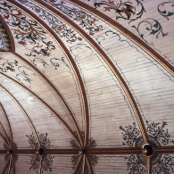 St. Mary's Blessed Virgin Catholic Church, Vaulted ceiling, High Hill, 1906, D. Blake Alexander