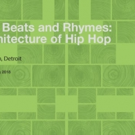 "UTSOA Lecture Series: Michael Ford, ""Beyond Beats and Rhymes: the Architecture of Hip Hop.""  February 26, 2018."