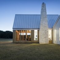 Hill Country House Exterior View