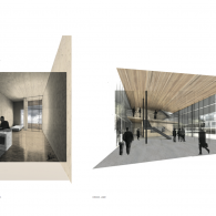 Kulturzentrum Interior Renders